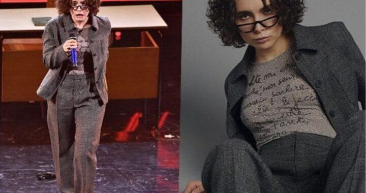 Madame a Sanremo: ecco cosa c'era scritto sulla maglia della rapper