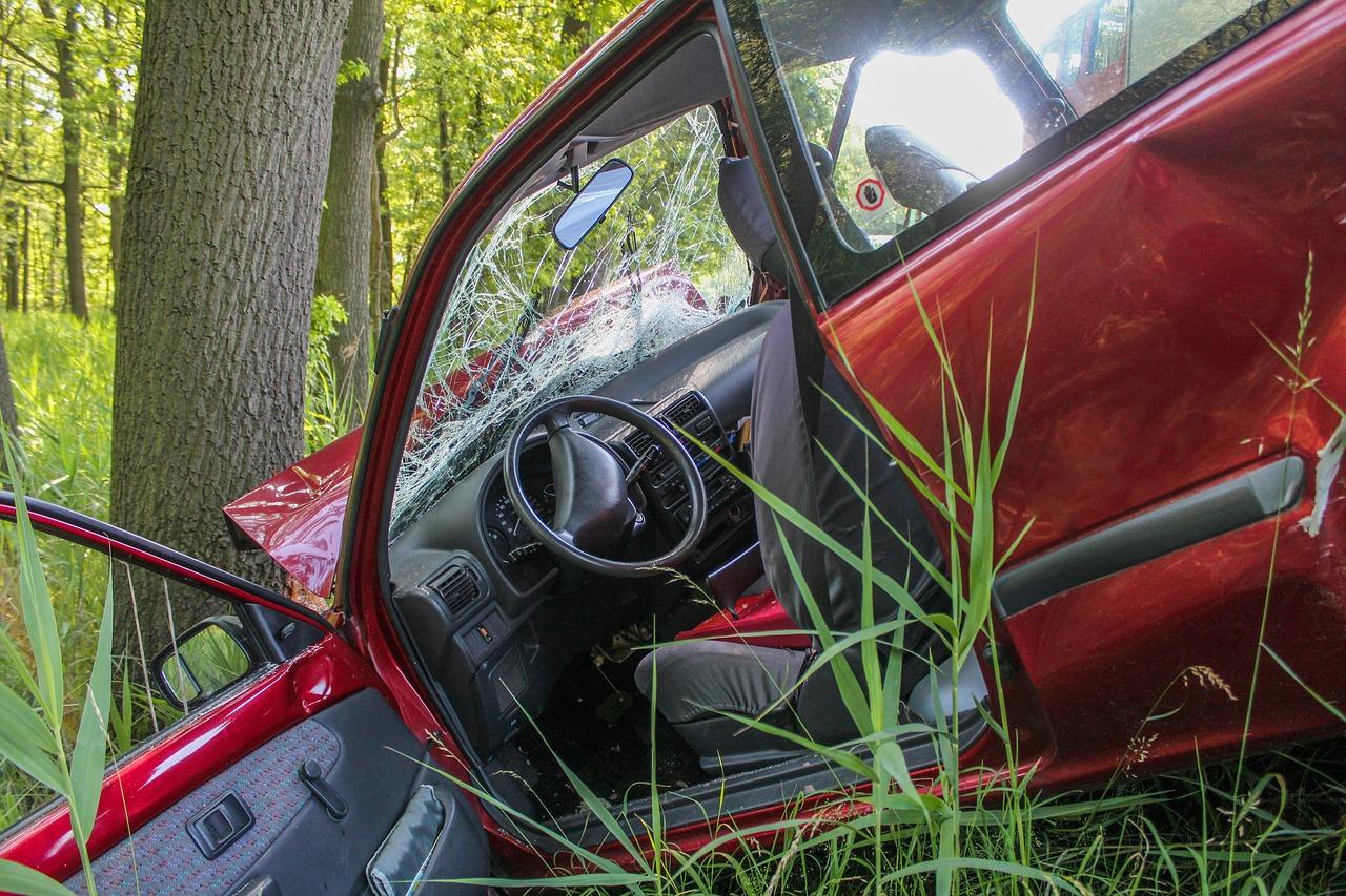 Schianto in auto