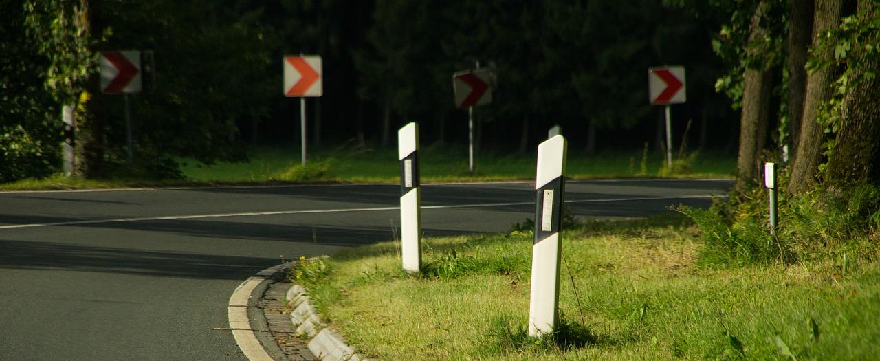 Strada pericolosa