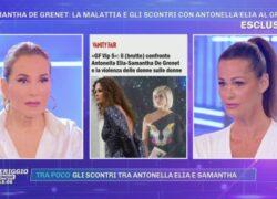 Samantha De Grenet non perdona Antonella Elia