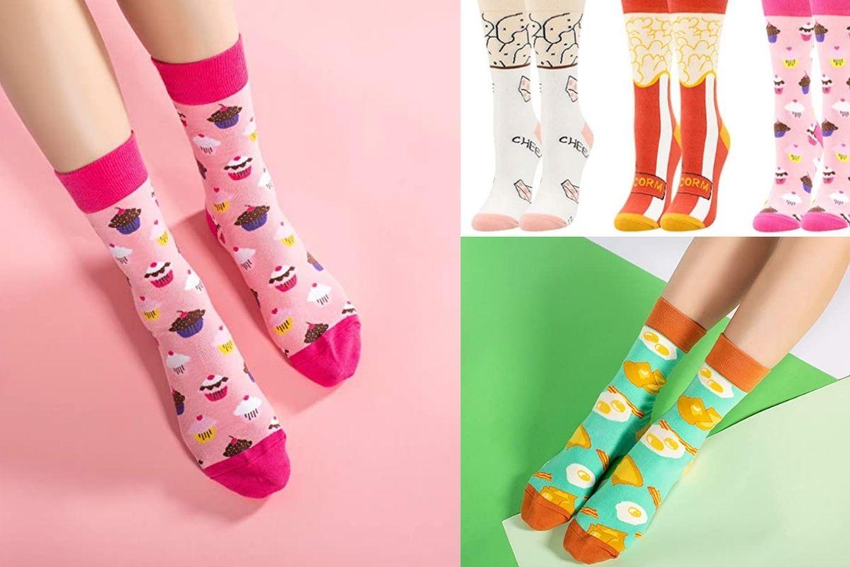 set di calzini strani