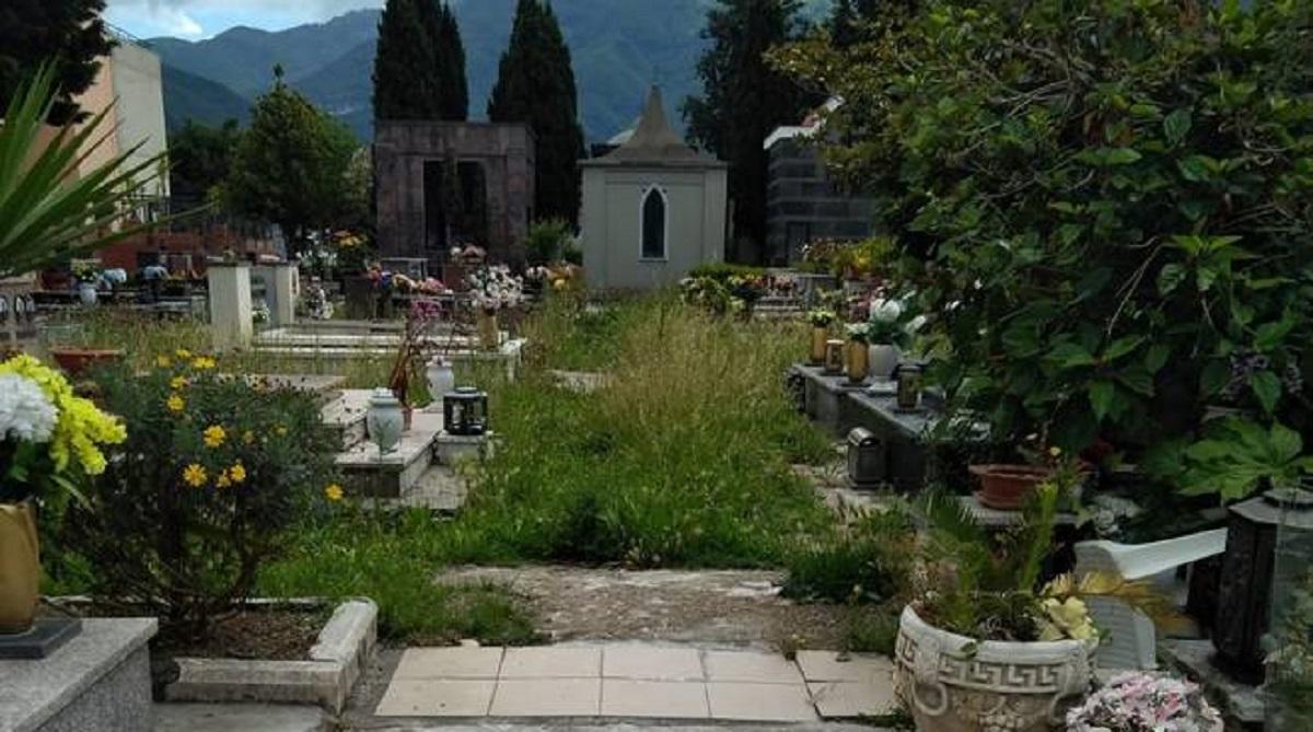 morte al cimitero