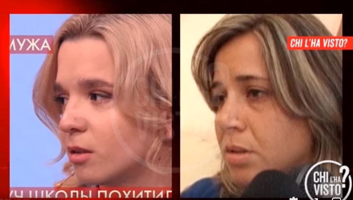 Olesya e la somiglianza con il papà di Denise Pipitone