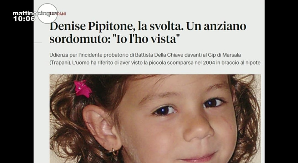 Ancora misteri sulla scomparsa di Denise Pipitone