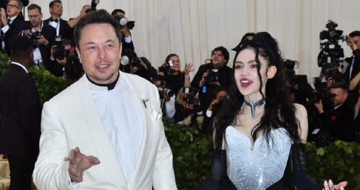Elon Musk, l'ultima follia della sua compagna, cicatrici aliene sulla schiena