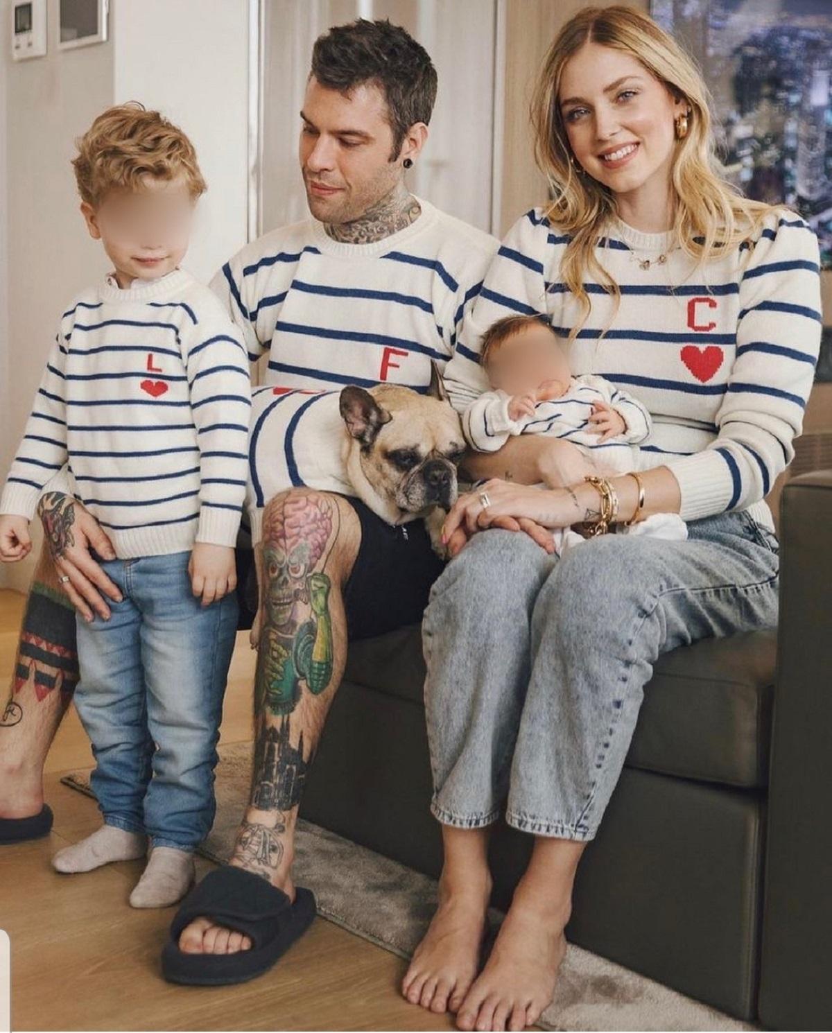ferragnez family sweaters