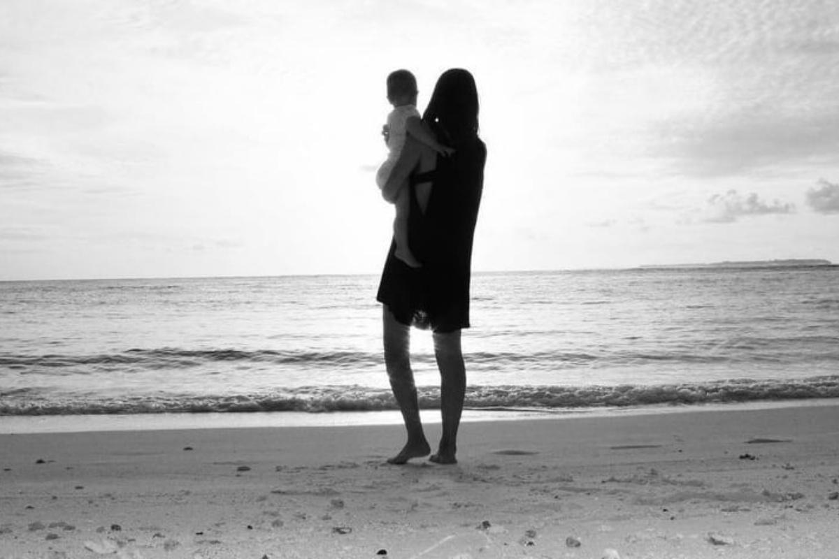 Francesca Fioretti racconta di come ha aiutato la sua bambina a superare la morte del papà