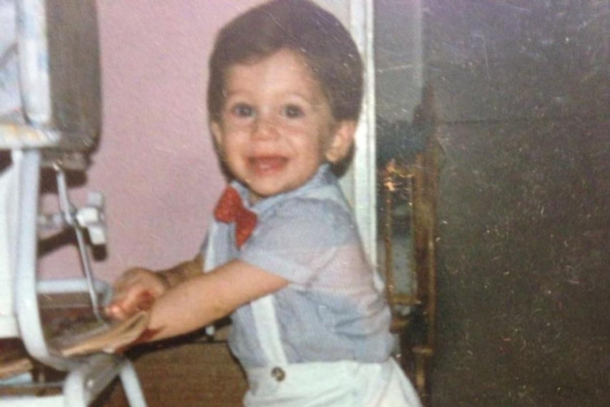 La foto di Frank Matano di quando era solo un bambino