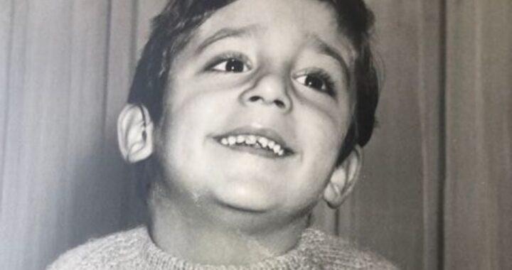 Luca Ward e la foto da bambino su Instagram