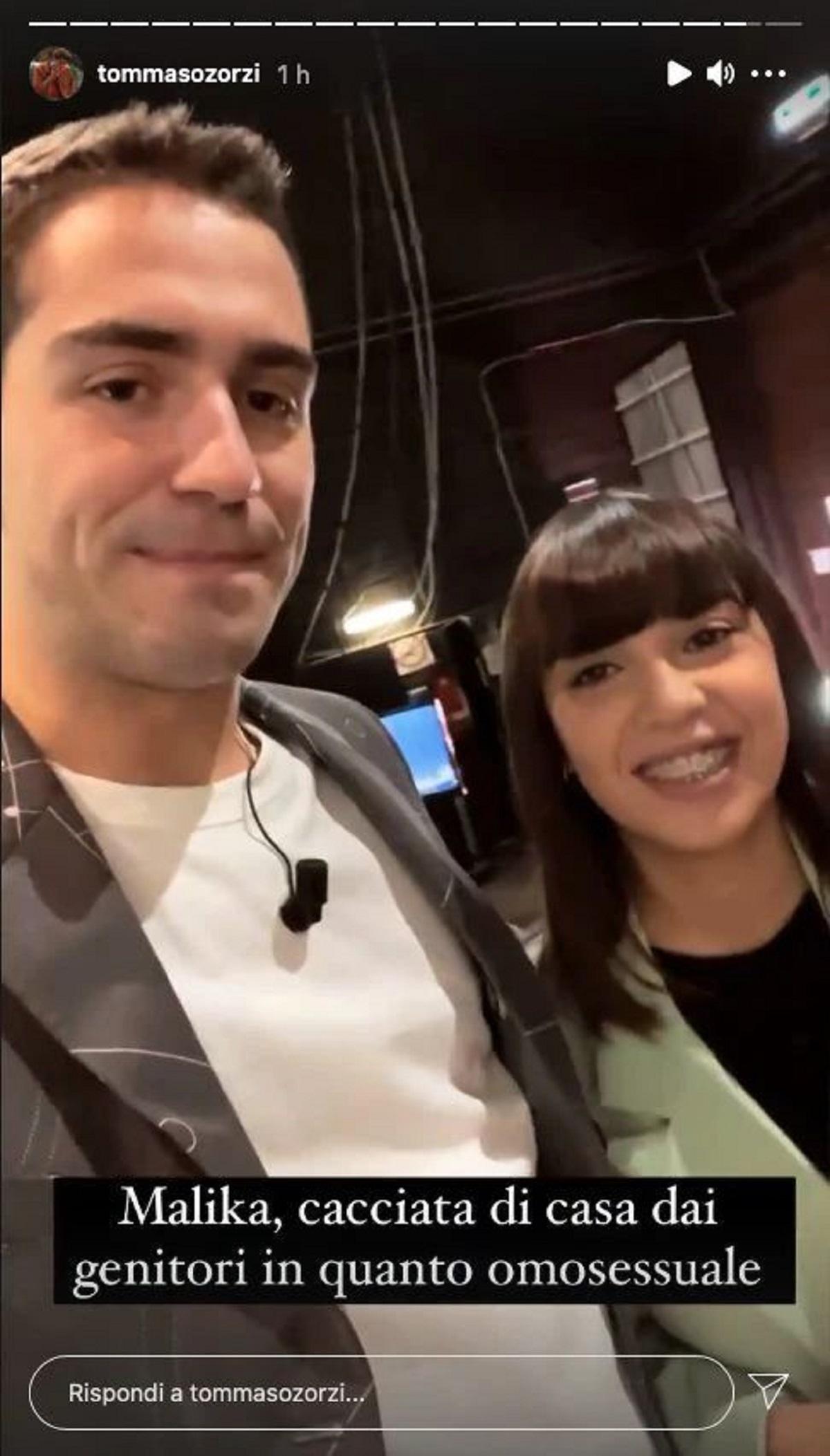 Tommaso e Malika