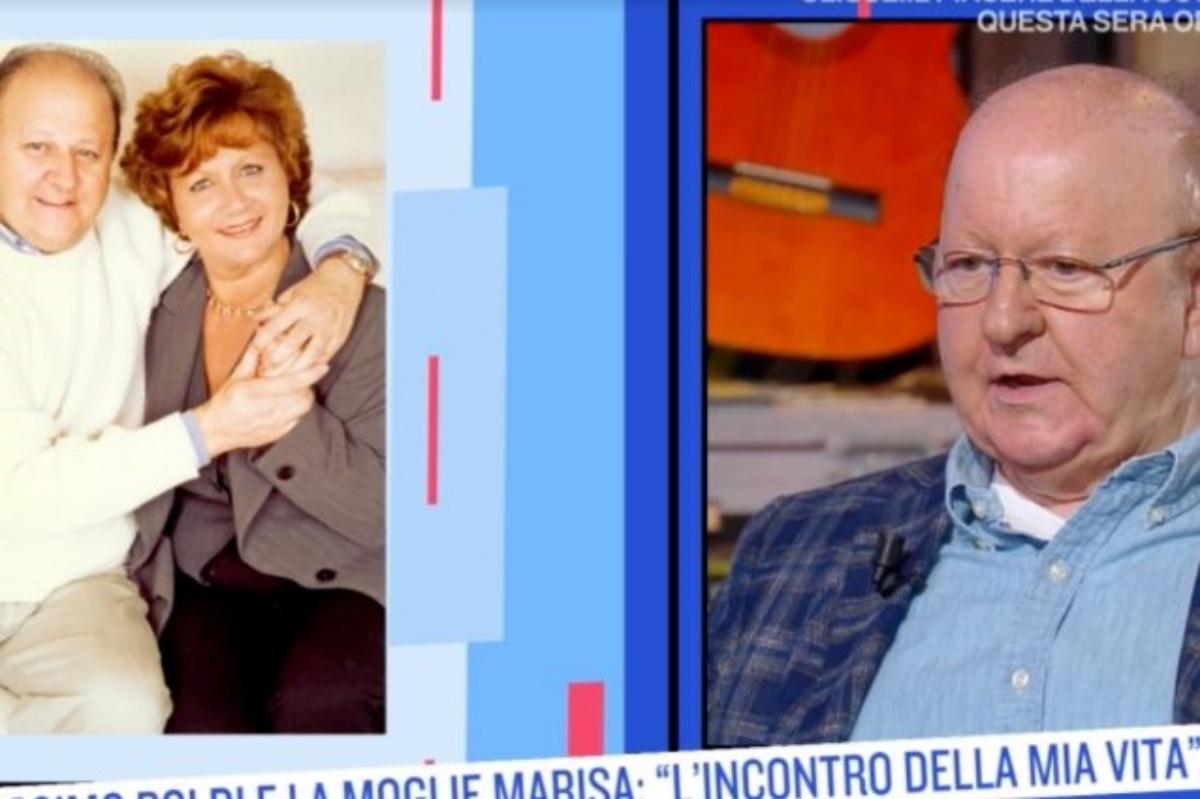 Massimo Boldi racconta il primo incontro con sua moglie scomparsa