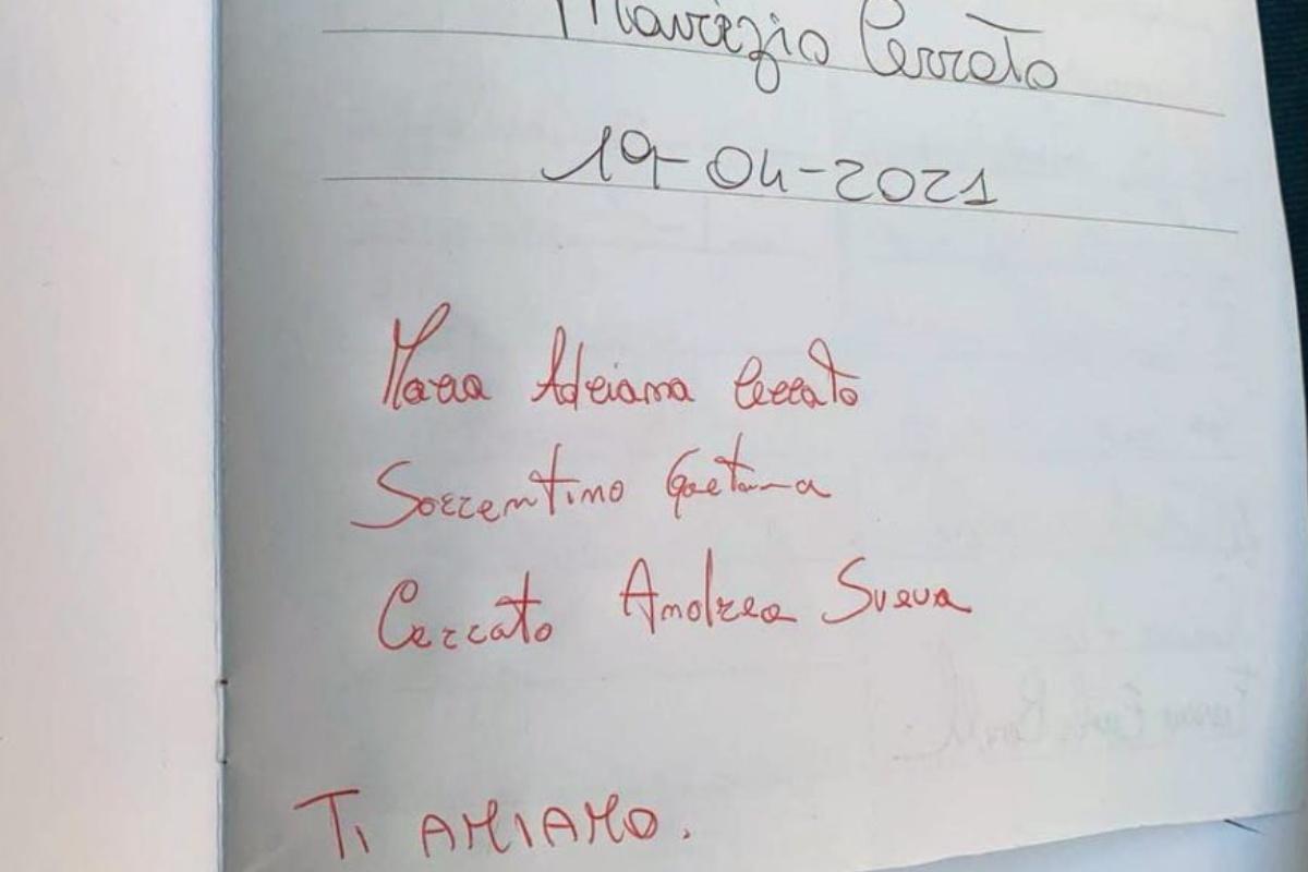 Il toccante messaggio della famiglia di Maurizio Cerrato