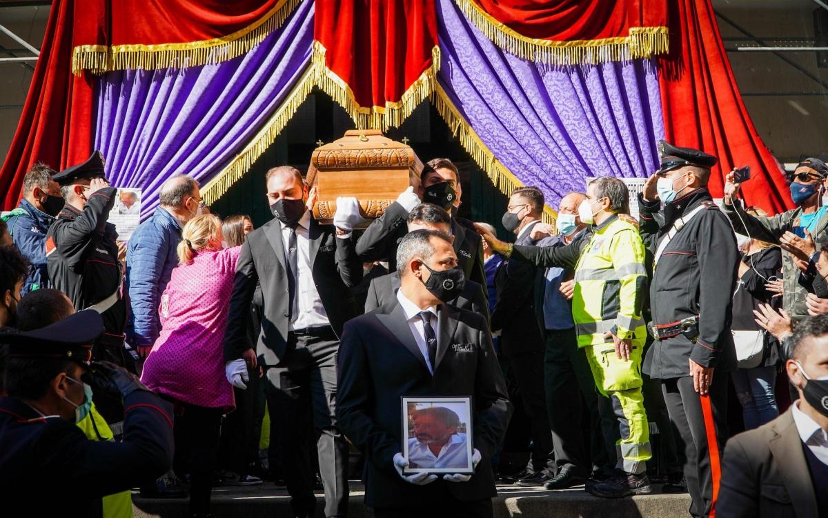 Funerali di Maurizio Cerrato
