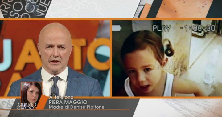 """Piera Maggio interviene telefonicamente durante la trasmissione Quarto Grado: """"Non sono stati loro a rapire Denise"""""""