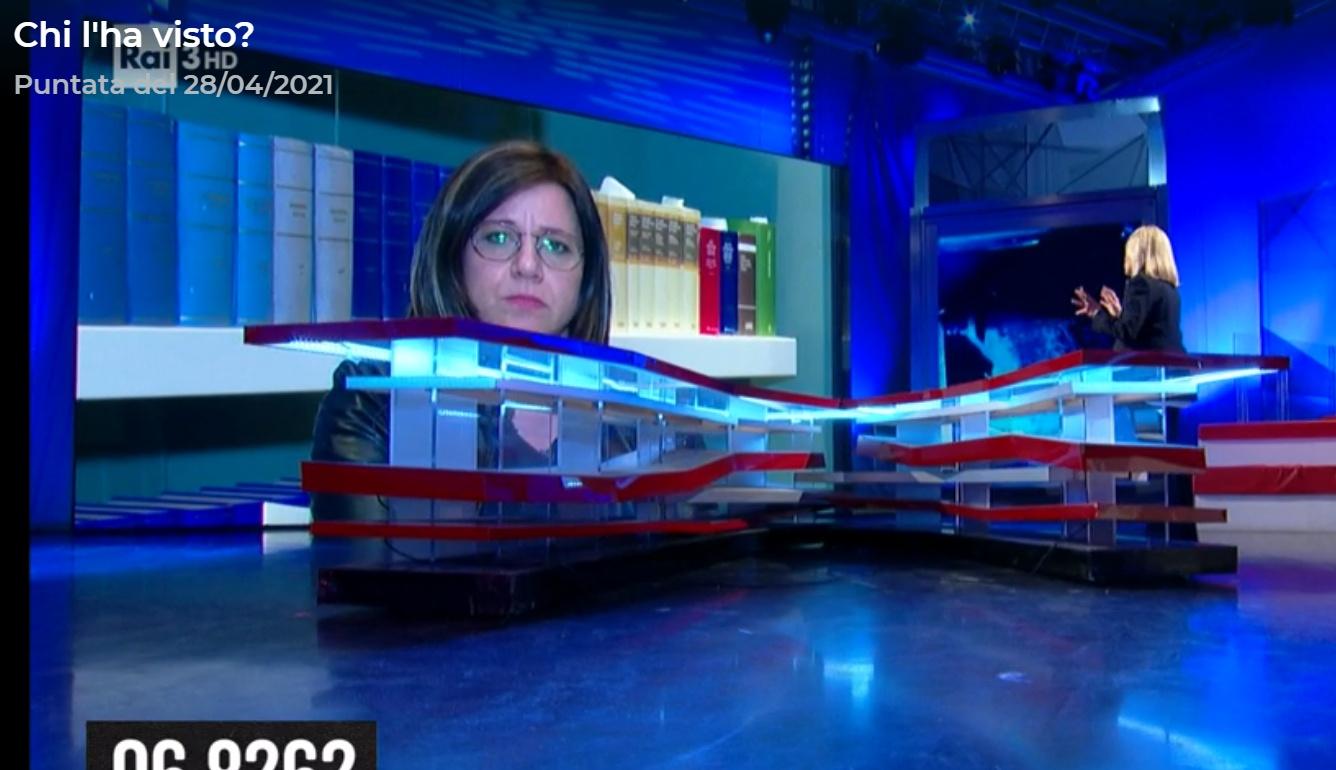 Piera Maggio e Gennaro Spinelli a Rai3