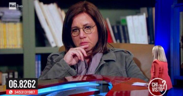 La rabbia di Piera Maggio durante l'ultima puntata di Chi l'ha visto