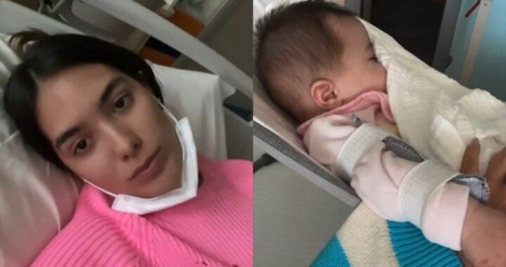 Mamma Sharon Fonseca mostra la piccola Blu Jerusalema dopo l'operazione subita a soli 5 mesi di vita: le sue toccanti parole