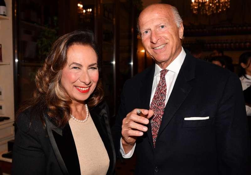 Joshua Kalman e la moglie