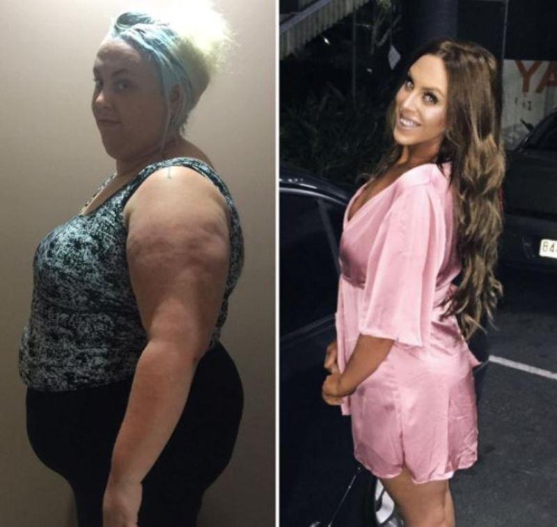 La trasformazione di una donna