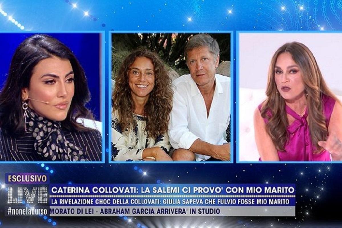 """Giulia Salemi accusata: """"Ci hai provato con mio marito"""". Il marito della Collovati rompe il silenzio"""