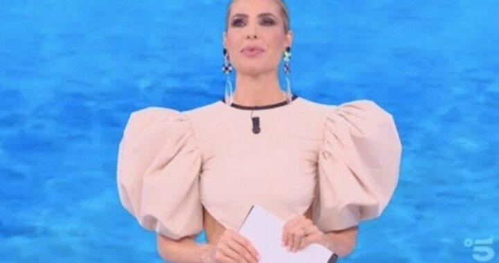 Ilary Blasi, ecco la stilista che ha disegnato il vestito per la dodicesima puntata