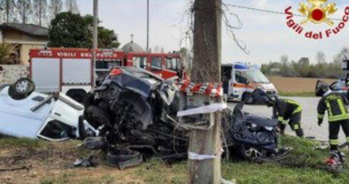 Incidente a Campodarsego: mamma, papà e bimbo di 2 anni in condizioni molto gravi