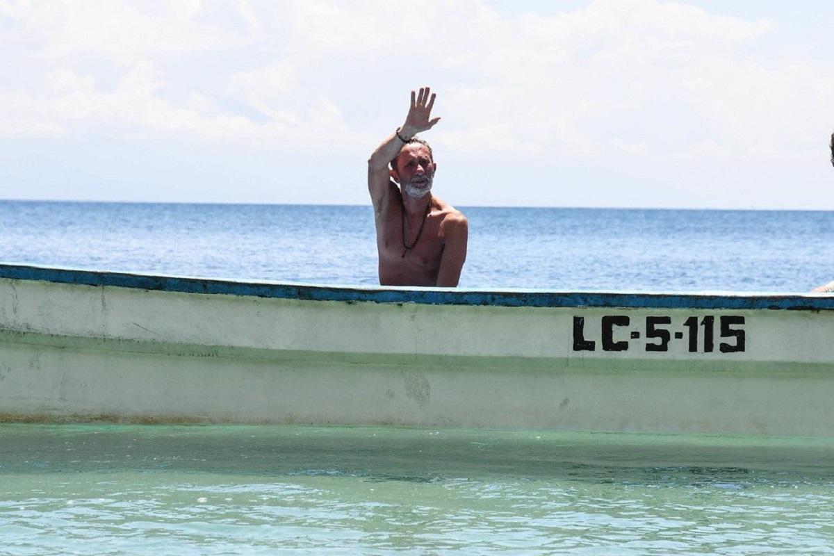 L'Isola dei Famosi, Brando Giorgi su tutte le furie