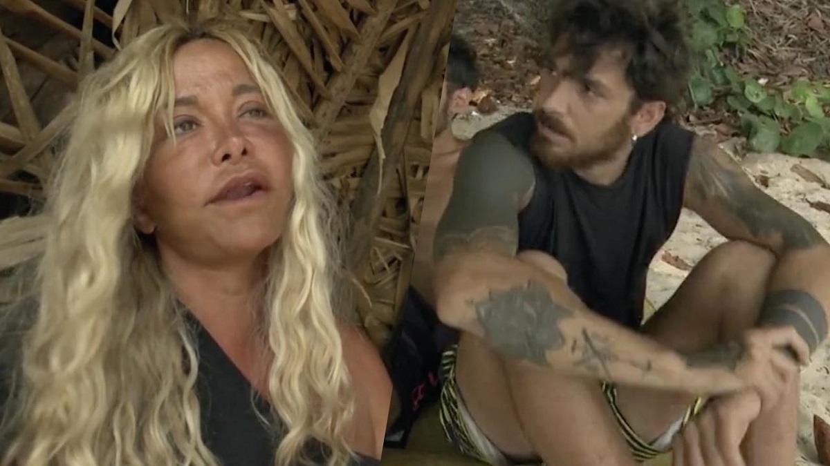L'Isola dei Famosi, scontro tra Andrea Cerioli e Vera Gemma