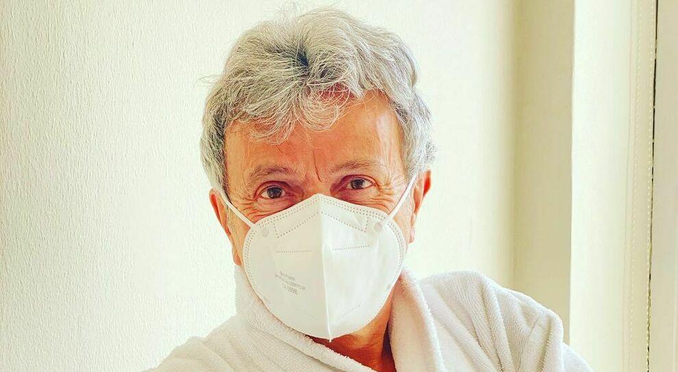 Il cantante Enzo Ghinazzi
