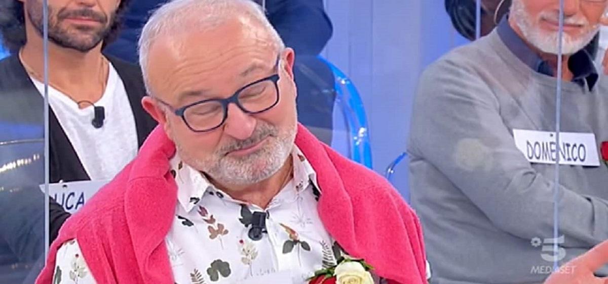 "UeD, the knight Aldo on Gemma Galgani: ""He made me see red"""