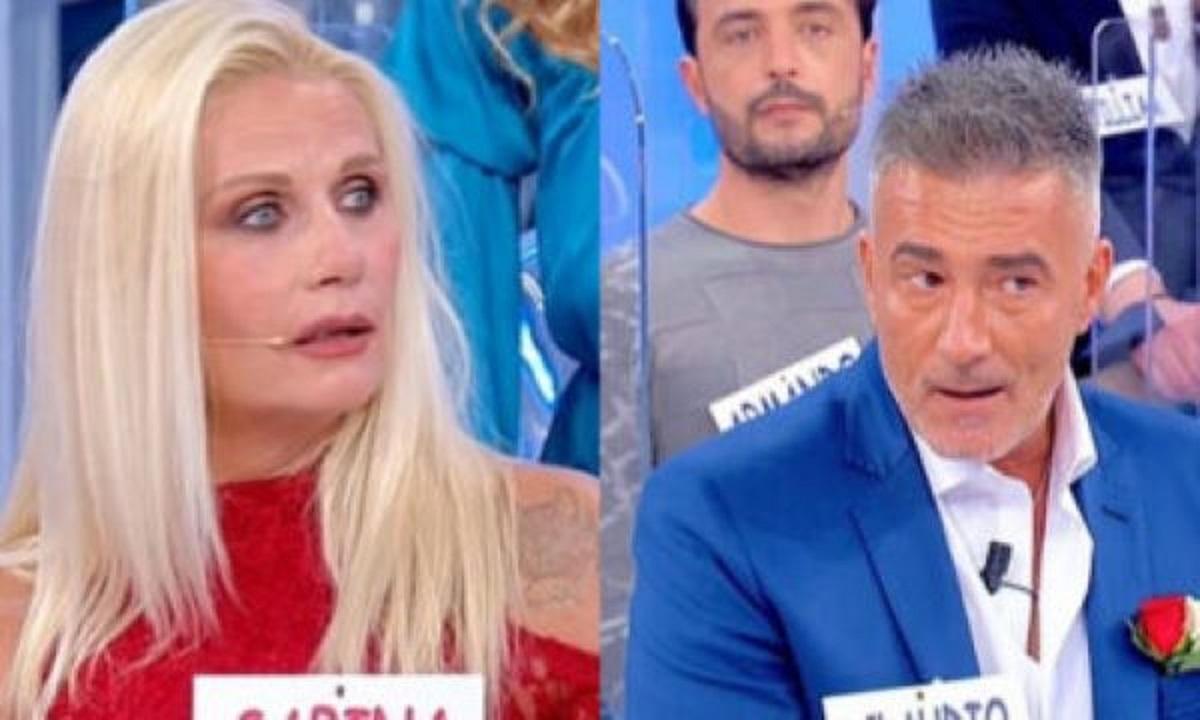 UeD: la coppia è scoppiata! Claudio Cervoni Sabrina Ricci