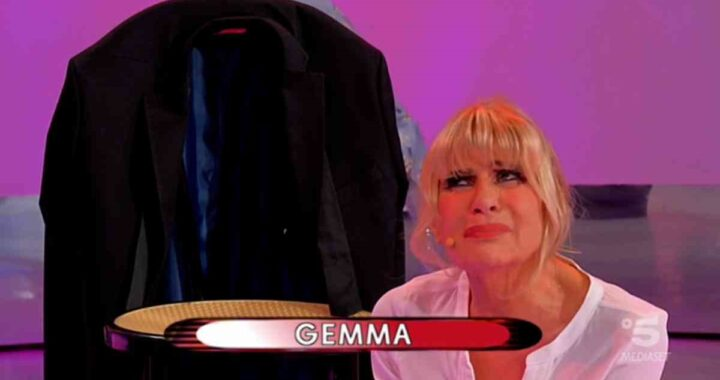 UeD: Gemma Galgani scoppia in lacrime