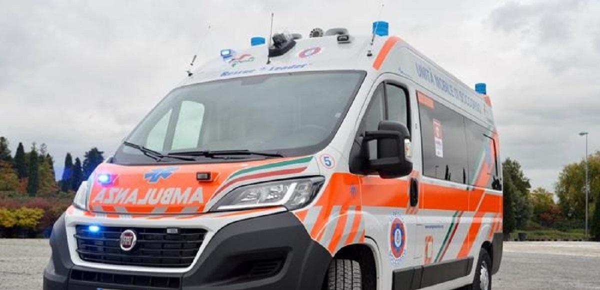 rubata ambulanza