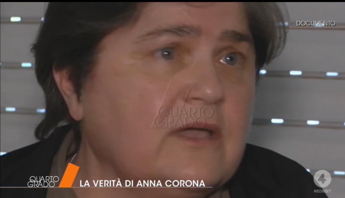 Quarto Grado intervista Anna Corona