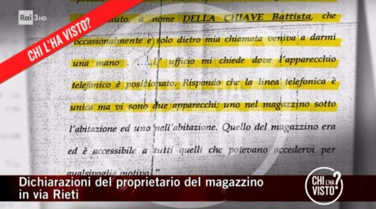 La verità su Battista Della Chiave