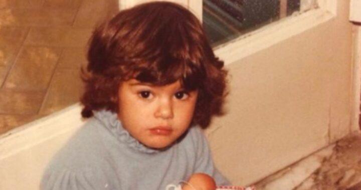 Anche Bianca Guaccero ha pubblicato dei suoi scatti d'infanzia
