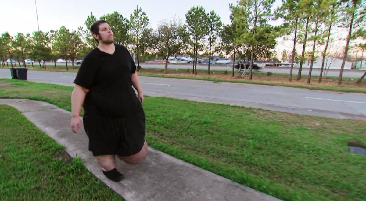 La storia di J.T. Clark, arrivato a pesare oltre 400 kg