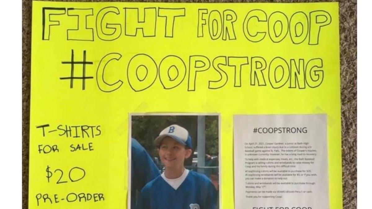 Uno scontro di gioco è costato la vita al giovane Cooper Gardner