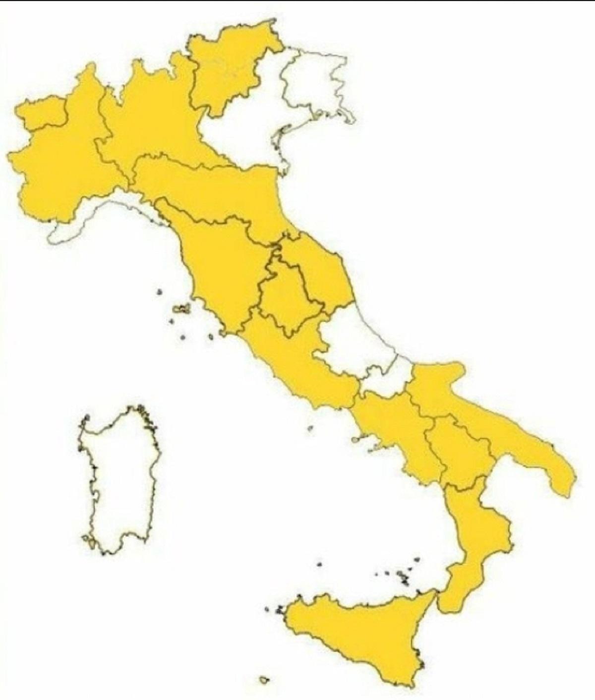 regioni zona bianca coronavirus