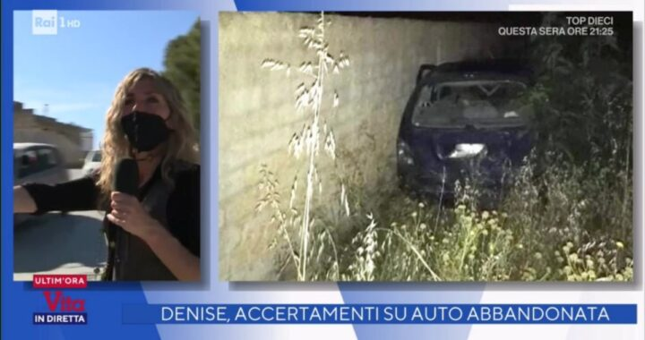 Caso Denise Pipitone: indagini su automobile abbandonata