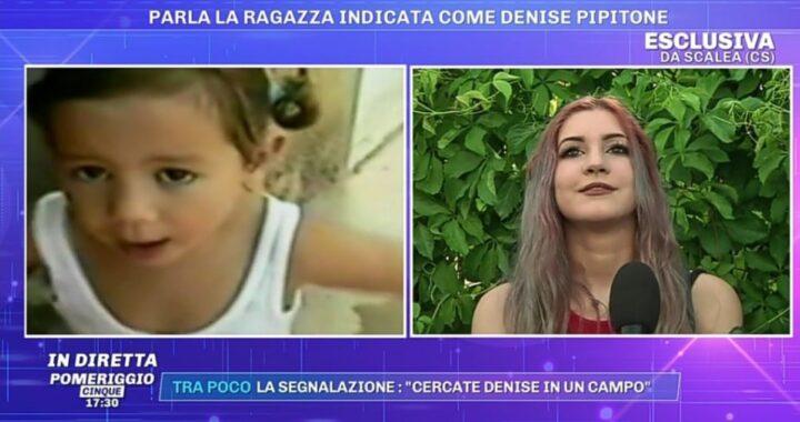 Caso Denise Pipitone: la 19enne fermata a Scalea ospite in collegamento da Barbara D'Urso