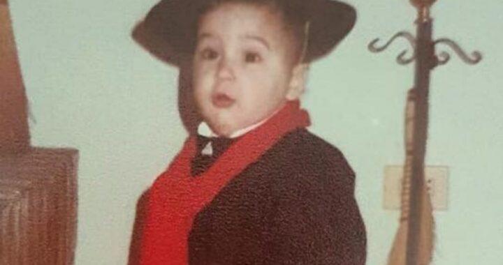 Le foto da bambino di Filippo Magnini
