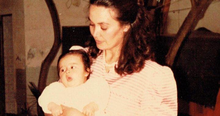 Giorgia Palmas e la foto di quando era bambina