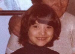 Le foto dell'infanzia di Laura Pausini