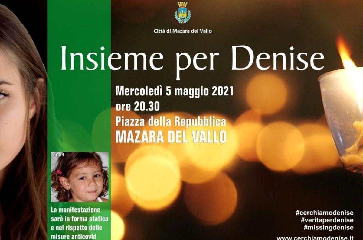 Il 5 maggio una manifestazione per Denise Pipitone