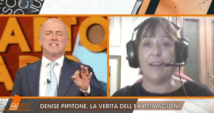 Discussione a Quarto Grado con Maria Angioni