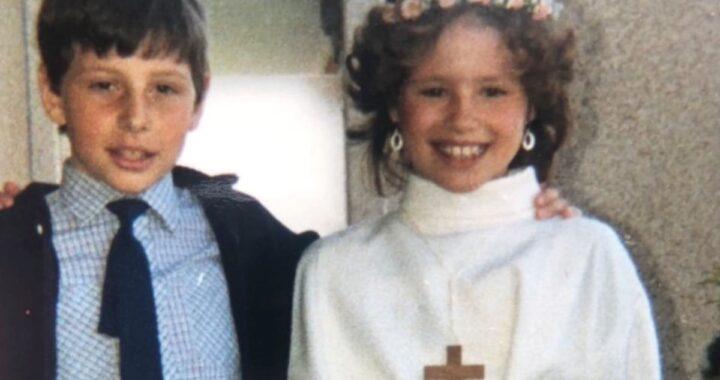 Michelle Hunziker e la foto da bambina su Instagram