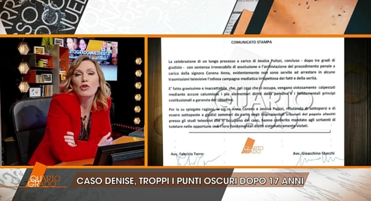 Il caso Denise Pipitone a Quarto Grado