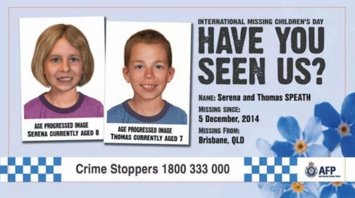 Serena e Thomas rapiti dalla madre, rintracciati dopo 3 anni