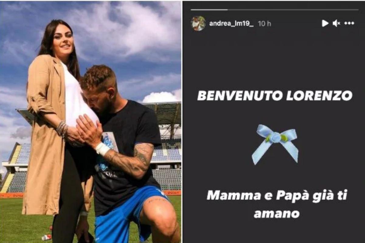 Andrea La Mantia e Silvia Raffaele genitori